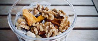 Cколько орехов можно съедать в день: норма