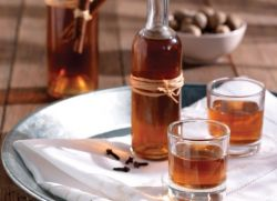 Настойка перегородок грецкого ореха на водке