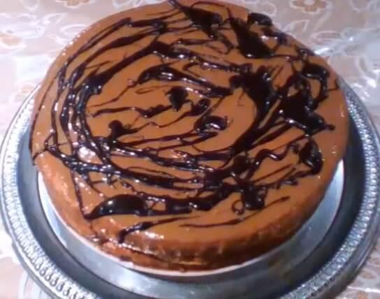 торт с арахисом и сгущенкой